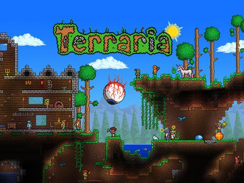 Terraria - аналог Micnecraft для iPhone и iPad