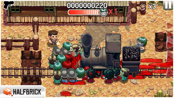 iOS-игра Age of Zombies - мобильная классика от создателей Fruit Ninja