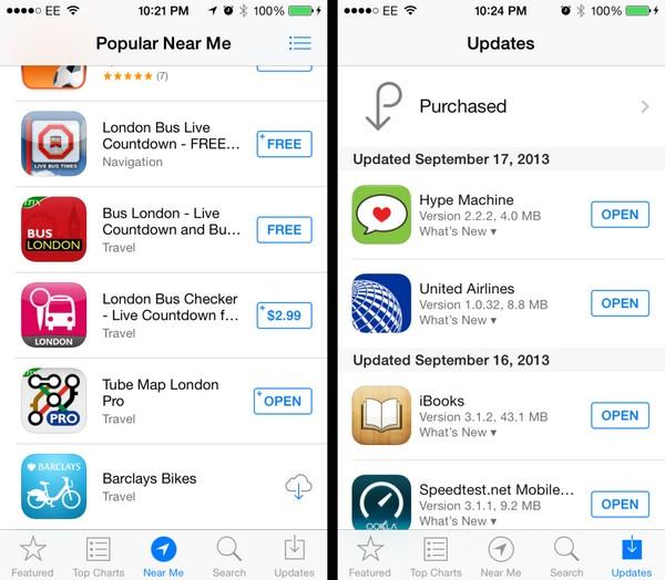 Обзор iOS 7 - подробно обо всех изменениях седьмой версии ОС для iPhone и iPad