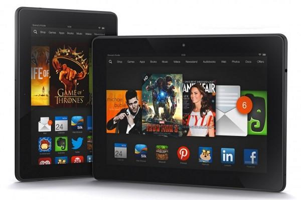 Новые планшеты Kindle Fire HDX: фото, цены и обзор характеристик