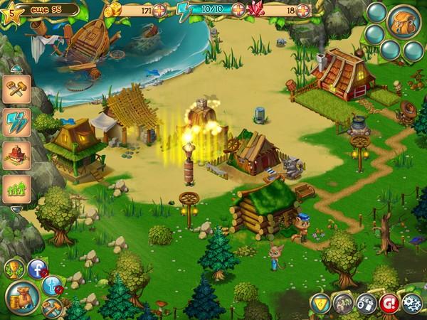 Обзор iPad-игры История Кошек - обустраиваем остров для хвостатых робинзонов