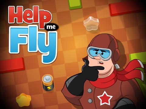 Головоломка Help Me Fly для iPhone и iPad - заряжаем биплан электричеством