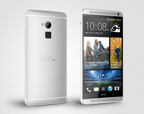 HTC One Max - сканер отпечатков пальцев, 5,9-дюймовый экран и HTC Sense 5.5