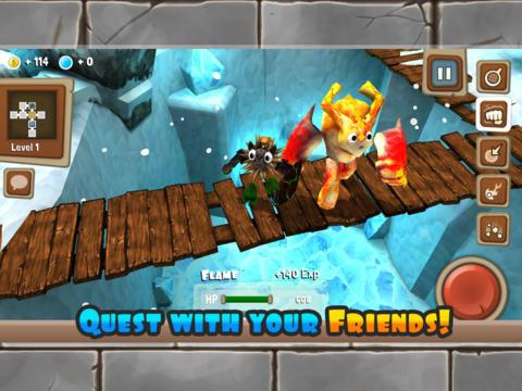 Игра Monster Adventures для iPhone и iPad - конструируем монстров