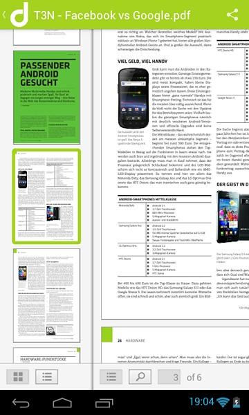 doctape Viewer - просмотрщик файлов для Android с поддержкой 50 форматов