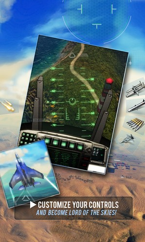 Android-èã ðà Sky Gamblers: Air Supremacy: çðåëèùíûå áèòâû â âîçäóõ & # xE5; íà èñòðåáèòåë ÿõ