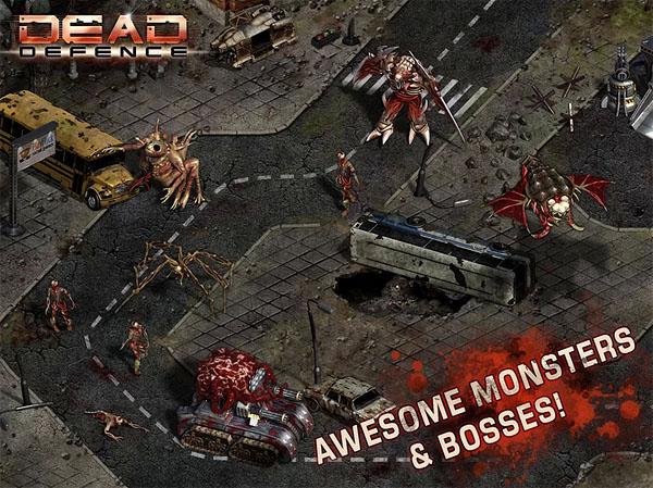 Бесплатная Android-игра Dead Defence – безбашенный зомби-апокалипсис