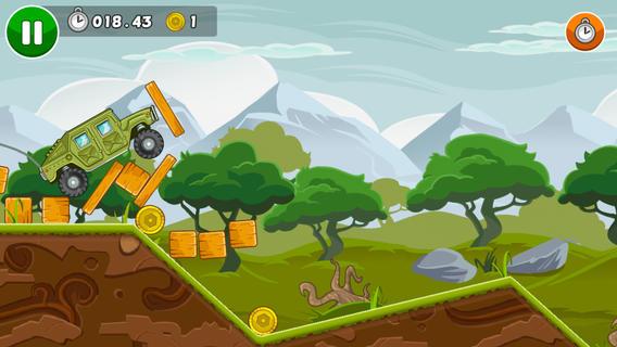 Бесплатная игра Newton Race для iPhone и iPad – физика, разрушения и броневики