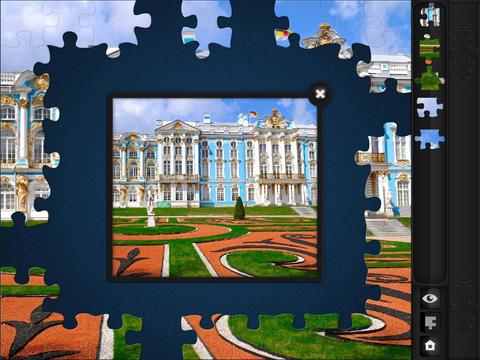 Бесплатная игра Чудо Пазлы для iPad полностью на русском