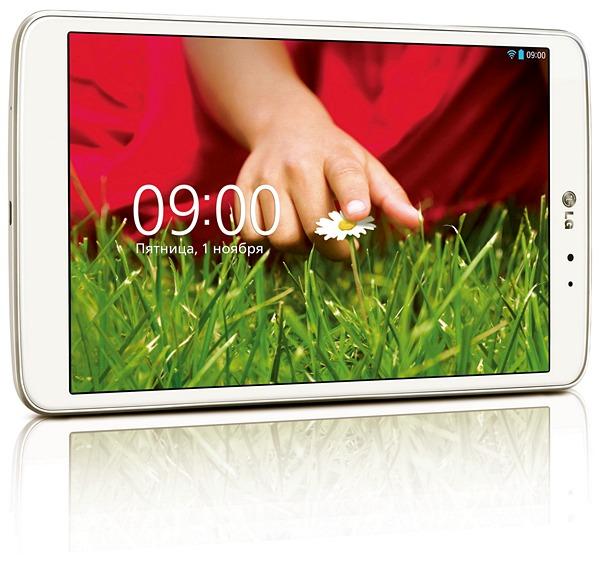 Купить планшет LG G Pad 8.3 в России можно по цене 13 990 рублей
