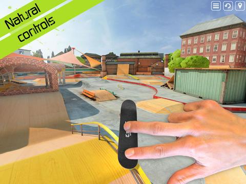 Touchgrind Skate 2 – отменный симулятор скейтборда для iPhone и iPad