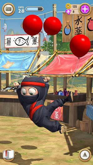 Clumsy Ninja – ваш персональный ниндзя