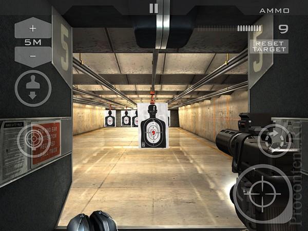 Обзор бесплатной игры Gun Club 3 для iPhone и iPad: ваш личный арсенал и тир