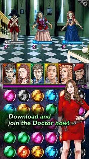 Бесплатная игра Doctor Who: Legacy для iPhone и iPad: путешествуем с Доктором Кто во времени и пространстве