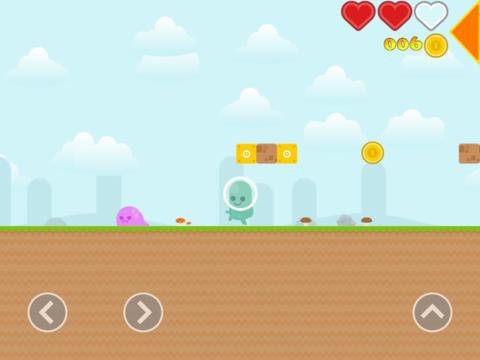Бесплатная iOS-игра Super Bobby: приключения космического пупса