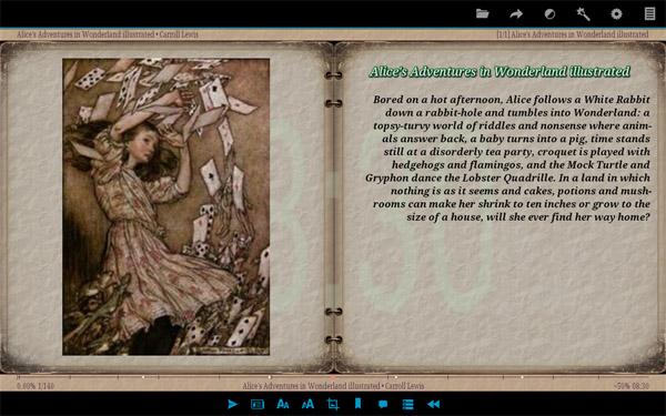 Android-приложение для чтения электронных книг AlReader