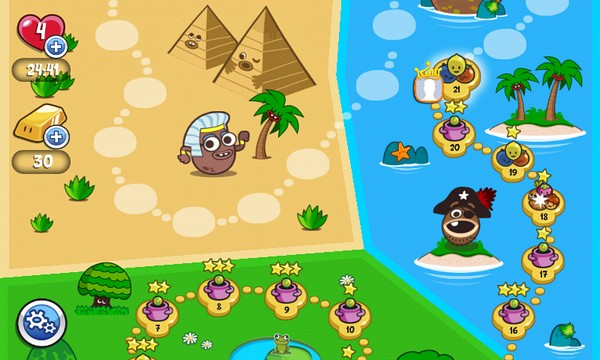 Обзор бесплатной игры Papa Pear Saga для iOS и Android: бешеная груша