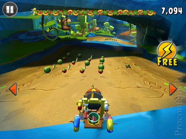 Обзор iOS-игры Angry Birds Go! - жадные пташки