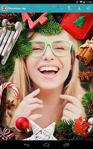 Новогодние фоторамки: новогодняя открытка из любого фото