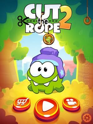 Cut The Rope 2 - лучшая головоломка 2013 года
