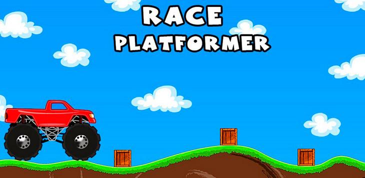 Обзор бесплатной игры Race Platformer для Android: покоритель холмов