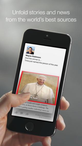 Обзор Paper для iPhone - новое лицо Facebook