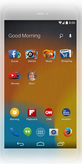 Лончер Firefox для Android от Mozilla