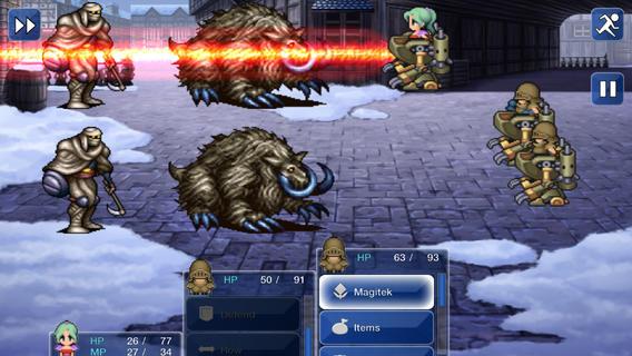 Final Fantasy VI: классика РПГ для iPhone и iPad