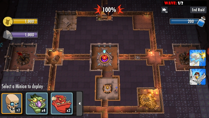 Обзор iOS-игры Dungeon Keeper: жертва freemium