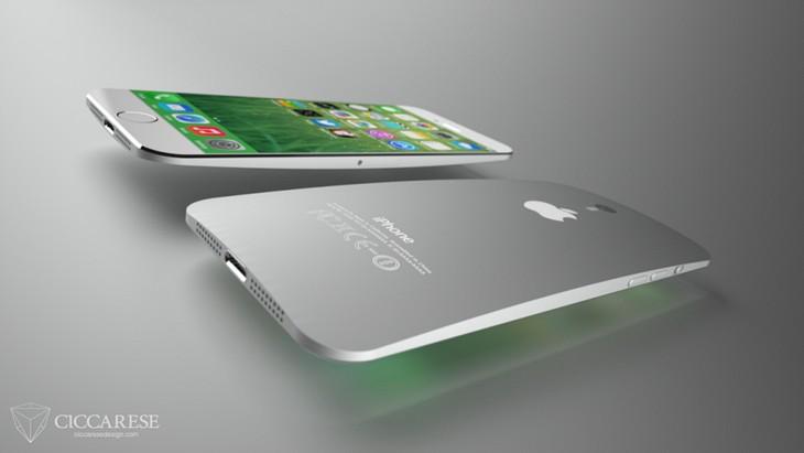 iPhone 6: фото концепта iPhone с большим экраном