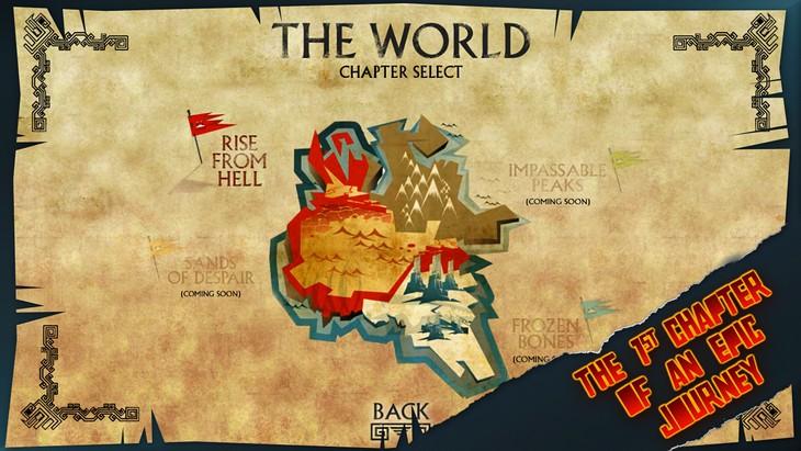 Бесплатная игра Colossus Escape для Android: бегство от богов