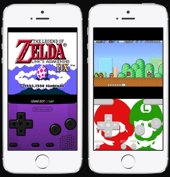 Эмулятор GameBoy Advance для iPhone и iPad