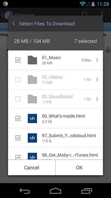 BitTorrent для Android обновился до версии 2.0