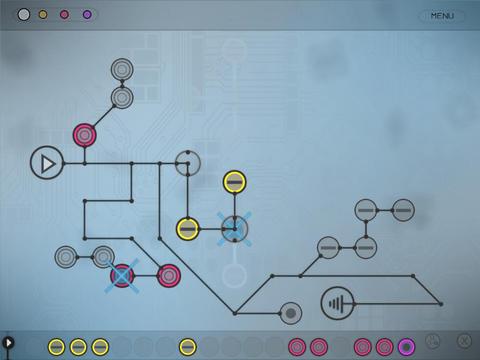 Музыкальная головоломка Circuits для iPad