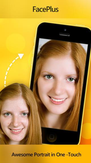 FacePlus для iPhone: мобильный визажист для ваших фото