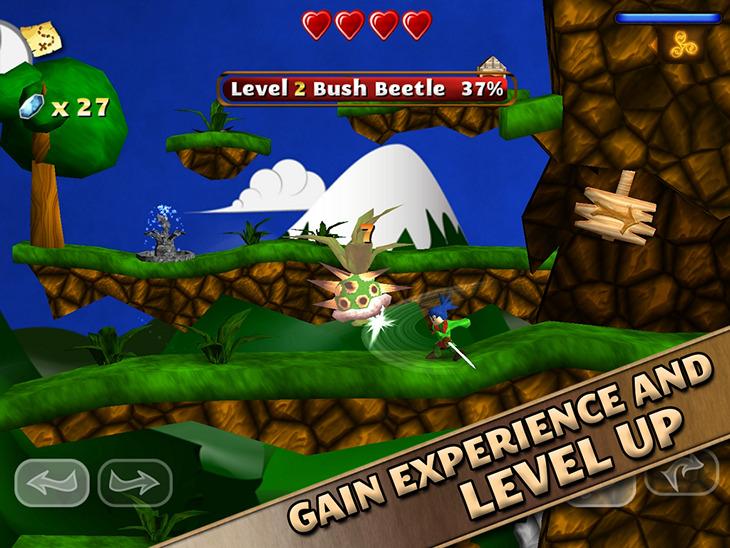 Android-игра Swordigo: бесплатный динамичный слэшер-платформер