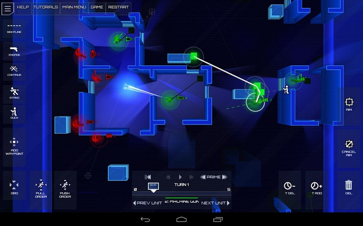 Игра Frozen Synapse для Android