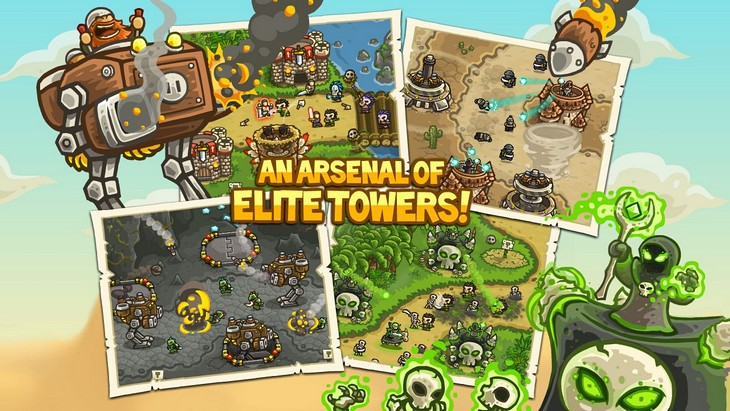 Игра Kingdom Rush Frontiers для Android