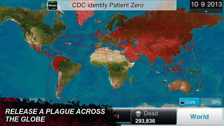 Игра Plague Inc. для Android