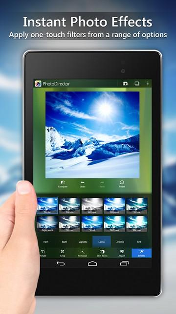 PhotoDirector для Android сделает конфетку из вашего фото