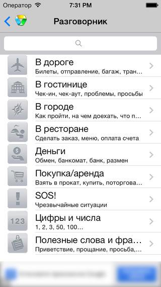 Японский переводчик в мобильных приложениях Translate.Ru
