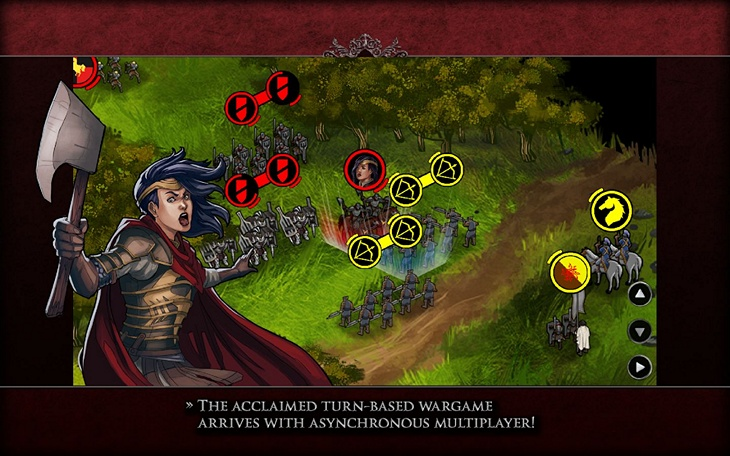 Бесплатная игра Ravenmark: Mercenaries для Android