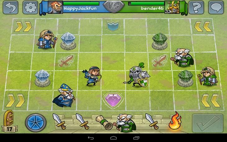 Игра Hero Academy для Android-смартфонов