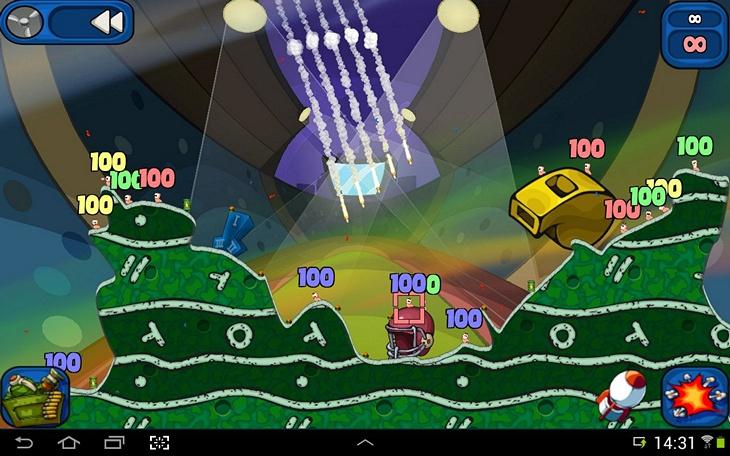 Мобильная игра Worms 2: Armageddon для Android