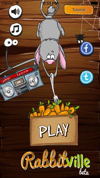 Rabbitville для iPhone: угарная игра про кроликов