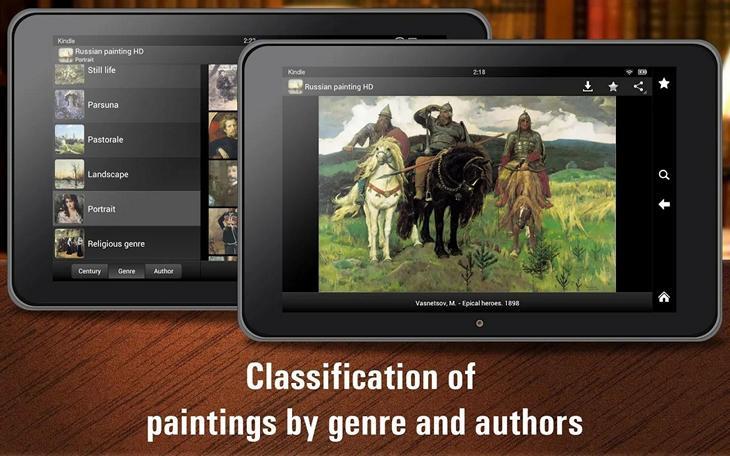 Русская живопись HD: полторы тысячи картин для Android