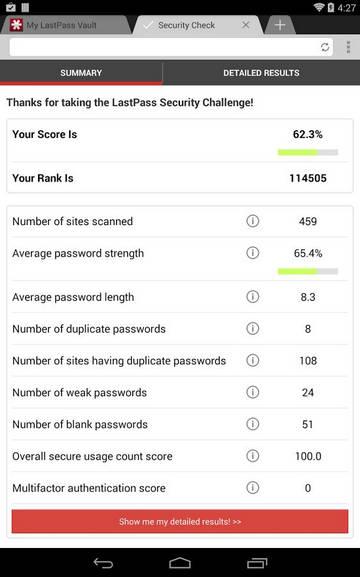 Приложение LastPass для Android запомнит за вас все пароли