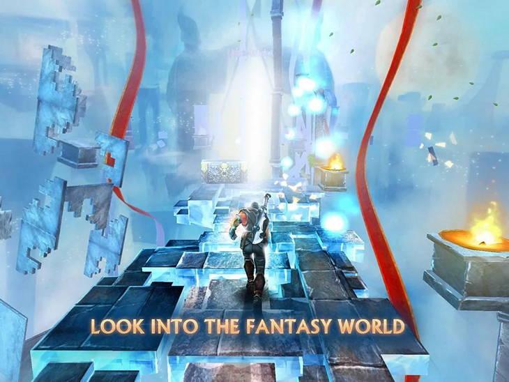 Игра «Бегущая Тень» для Android – бодрый коктейль из раннера и фэнтезийного RPG