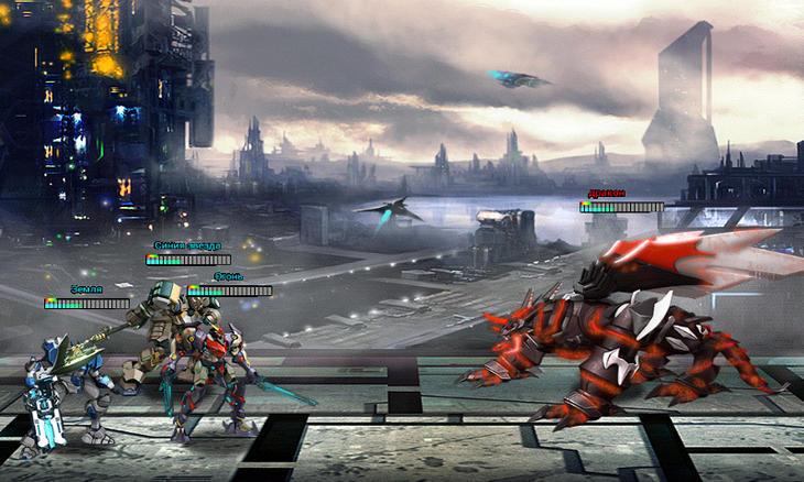 Игра Robot Wars для Android - онлайн-битвы мощных боевых роботов