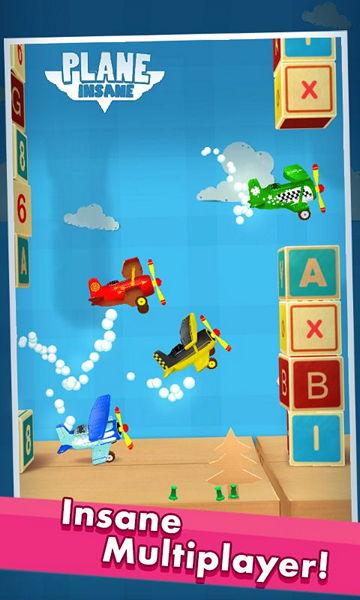 Обзор бесплатной Android-игры Plane Insane: высший казуальный пилотаж